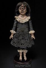 Shelbe – Exquisite Monster Art Doll (Shain Erin) Tags: original sculpture strange monster doll ooak fineart victorian surreal unusual artdoll medicalmodel humanoddity shainerin