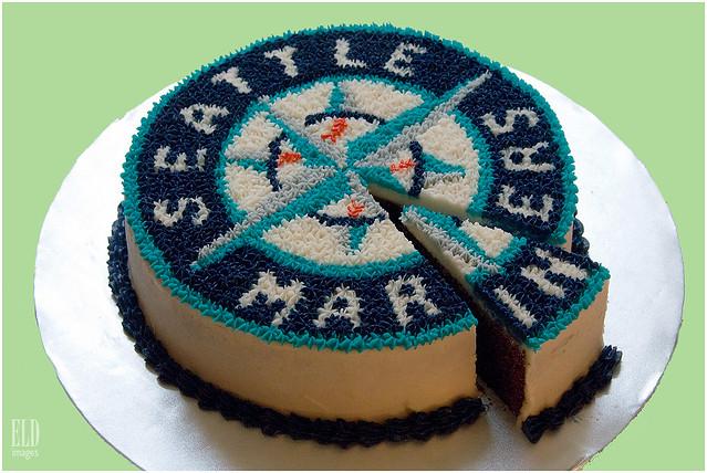 Seattle Mariners Cake - Oh Joy! Baked Goods