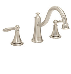 Alexandria Two Handle Roman Tub Faucet (SB-1131-BN) (SpeakmanShowers) Tags: shower bath shower shower collection speakman