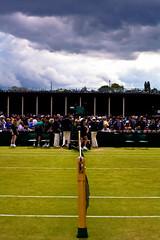 Wimbledon 2011 (Varun George) Tags: game green net set clouds tennis match wimbledon umpire grasscourt wimbledon2011
