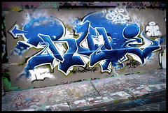 By RUDE (MCZ-3HC-TKO-SPAM-VX) (Thias (-)) Tags: terrain streetart paris wall painting graffiti mural spam rude spray urbanart painter graff aerosol bombing spraycanart tko vx pgc thias mcz photograff 3hc frenchgraff photograffcollectif