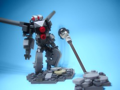 THE APOCALYPSE. (jestin pern) Tags: fiction skull robot lego space apocalypse science fi curious curiosity sci mecha bot mech hardsuit apocalego