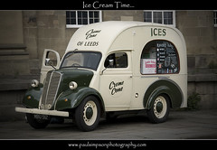 Ice Van (Paul Simpson Photography) Tags: york uk england food yorkshire icecream van tyres cones icecreme motorvehicle vintagevan paulsimps