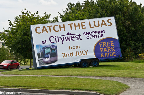 I Got The Luas Tram To Citywest