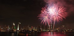 Fireworks over downtown San Diego - 2011 (San Diego Shooter) Tags: cool sandiego fireworks uncool downtownsandiego cool2 uncool2 uncool3 uncool4 uncool5 uncool6 uncool7 fireworks2011 2011sandiegofireworks sandiegofireworks2011