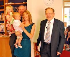 Mercer family baptism