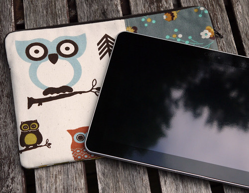 Owl Galaxy Tab Sleeve