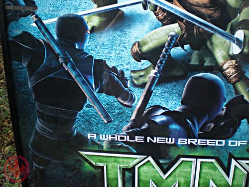 """"""" TMNT """" AUSTRALIAN teaser poster { TMNT v. SPITEX & Foot  } v (( 2007 ))"""
