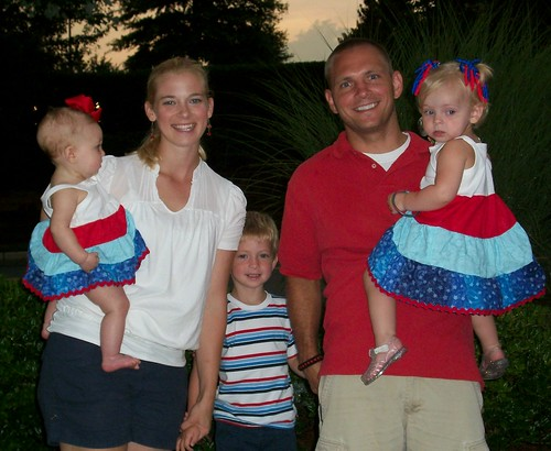 Our family on the fourth!