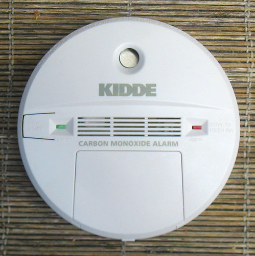 This carbon monoxide detector most likely saved my life.