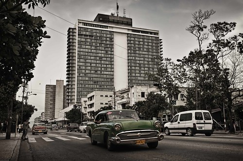 Rolling Havana.......Vedado, Cuba by Rey Cuba