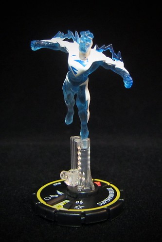 DC HeroClix Collateral Damage #67 Superman Blue - Rookie