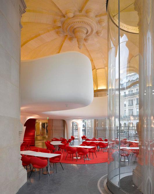Ouverture de l op ra restaurant enfin au sein de l op ra garnier hotels - Cafe de l opera garnier ...