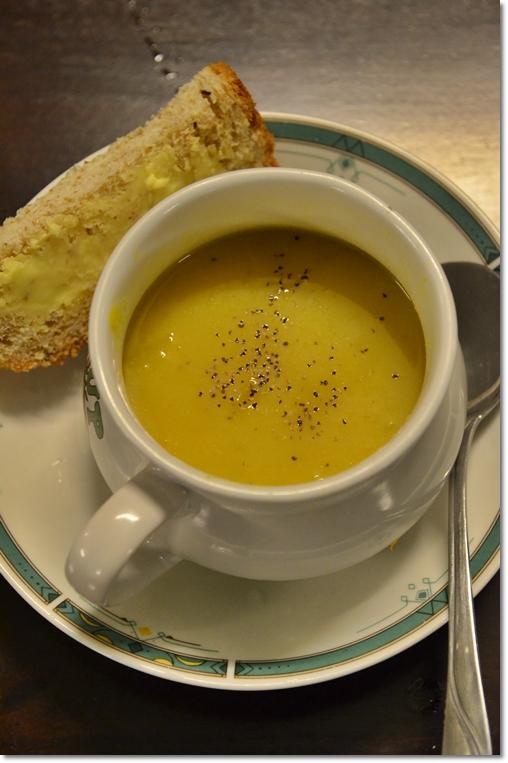 Wild Pumpkin Soup