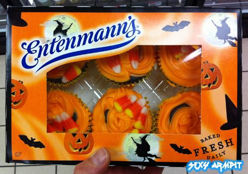 Entenmann's Halloween Cupcakes