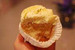 Limetten-Cupcake