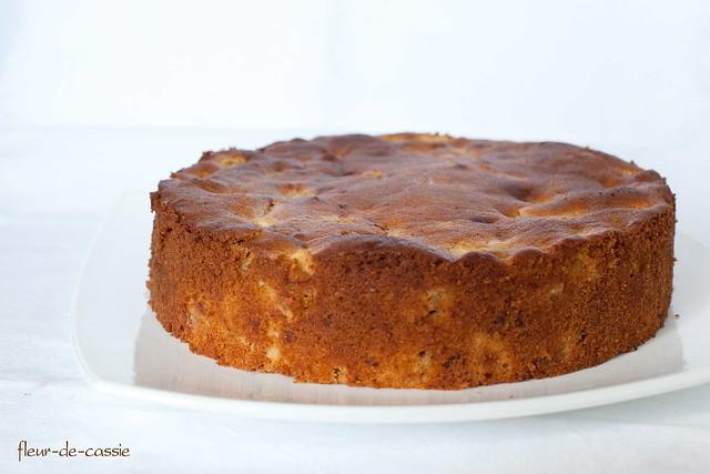 яблочно-медовый кекс 1