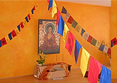 Minden Buddhist Centre shrine