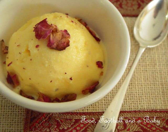 Saffron and Rosewater Kulfi  2