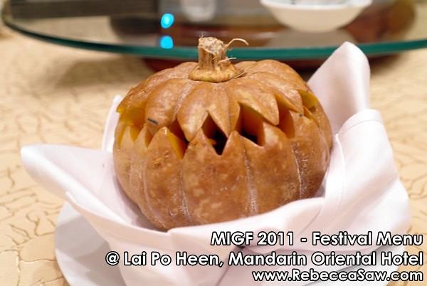 MIGF 2011 - Lai Po Heen, Mandarin Oriental-7