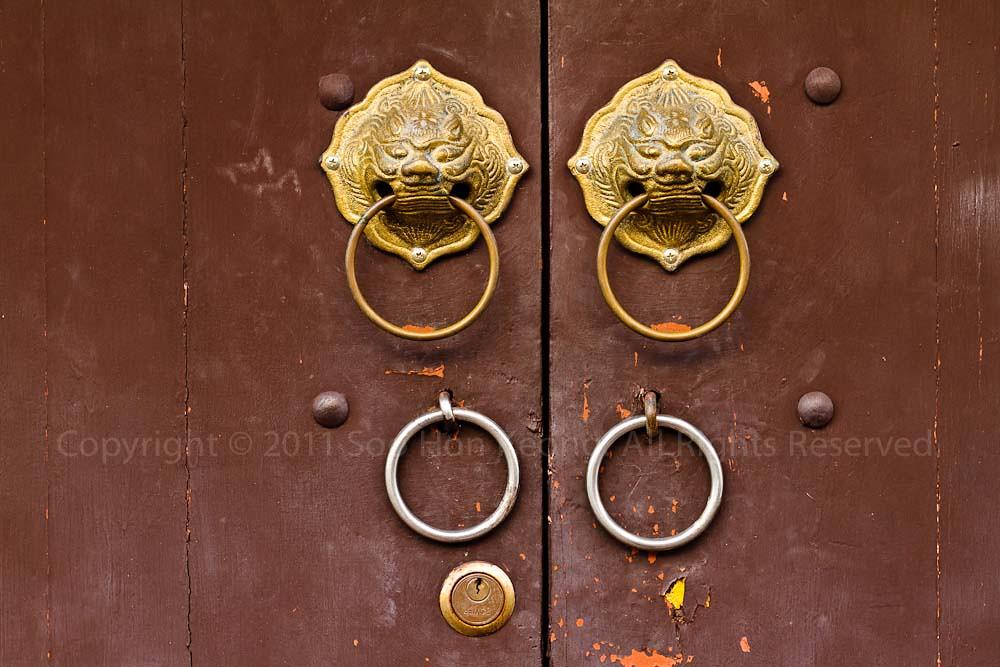Doors, Phuket Town @ Phuket, Thailand