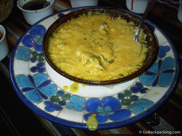 Pollo al curry con Macadamia