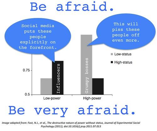 be very afraid