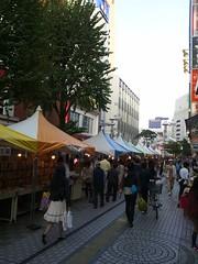 八王子で古本・手作り雑貨市をやってましたの写真