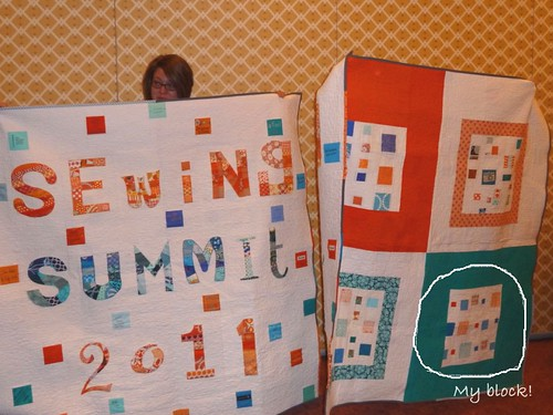 SSSS quilts front and back