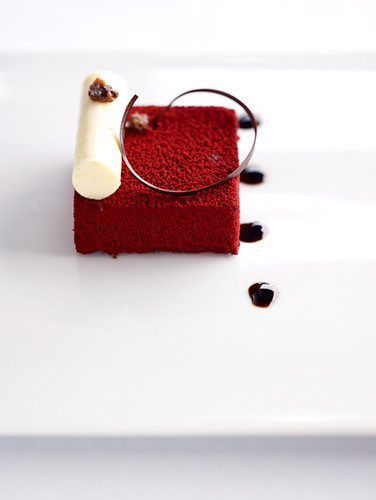 Black Forest Cake at lebua hotel, Bangkok