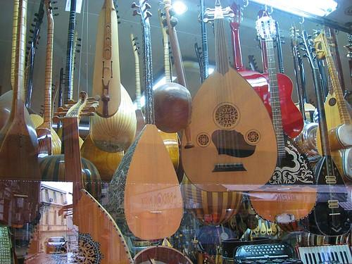Music store in Galata