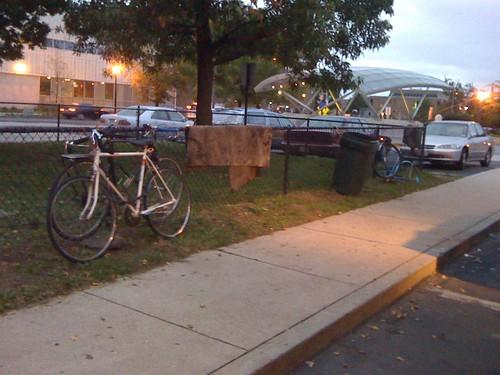Bikes at shaw