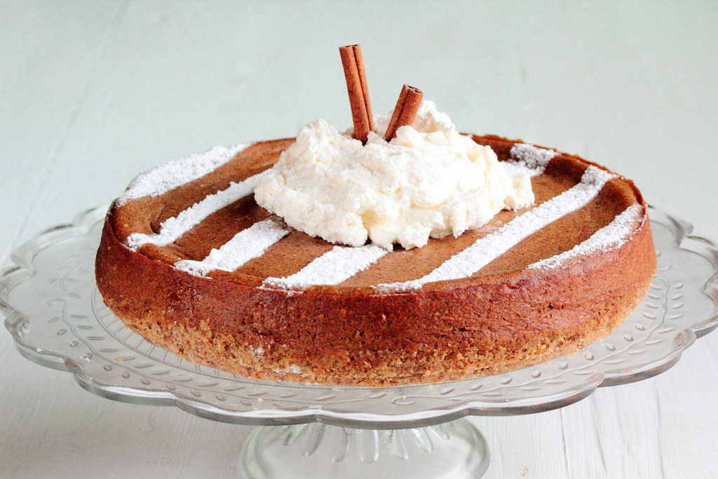 Pumpkin Spice Latte Cheesecake