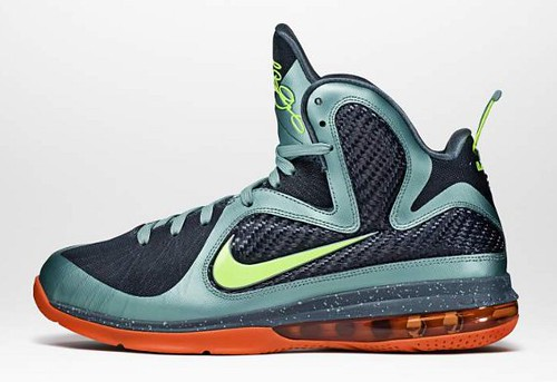 Nike Lebron 9 Pre Heat | Cannon  Colorway
