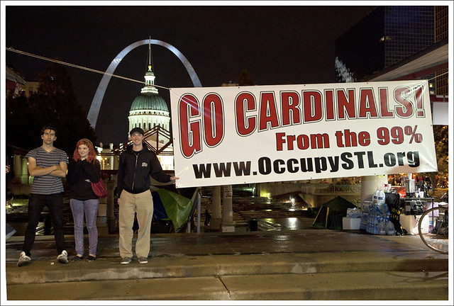 Arch - Go Cardinals - Occupy STL