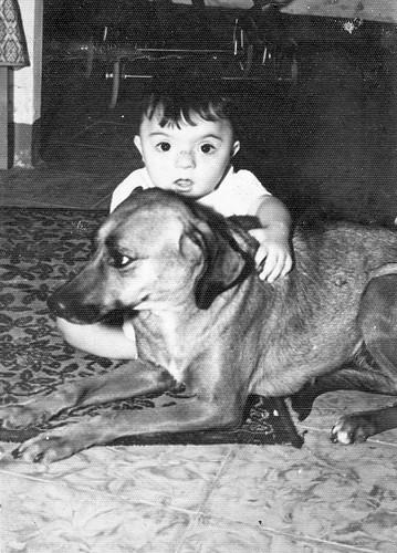 Jose Antonio y su perro
