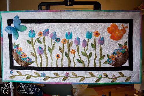 The Modern Garden Quilt