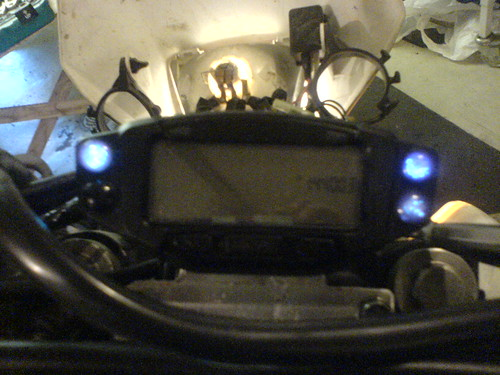 Indicator lights in place and working