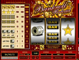 Bankroll Reload 1 Line slot game online review