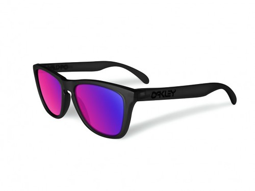 oakley-blacklight-frogskins black