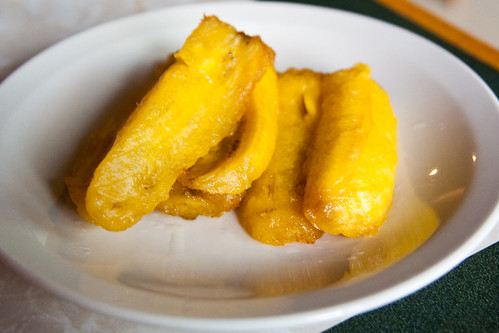 Sweet Plantains at AJ's Peruvian Restaurant