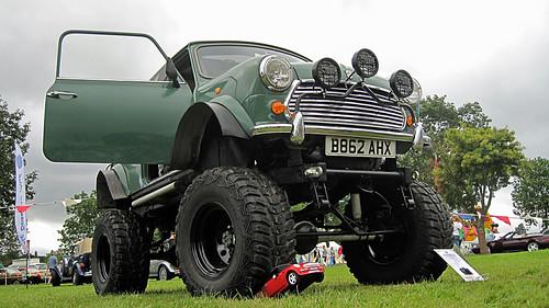 Monster Mini Crusher 4x4 - Stoneleigh Aug 2009 by Rally Pix