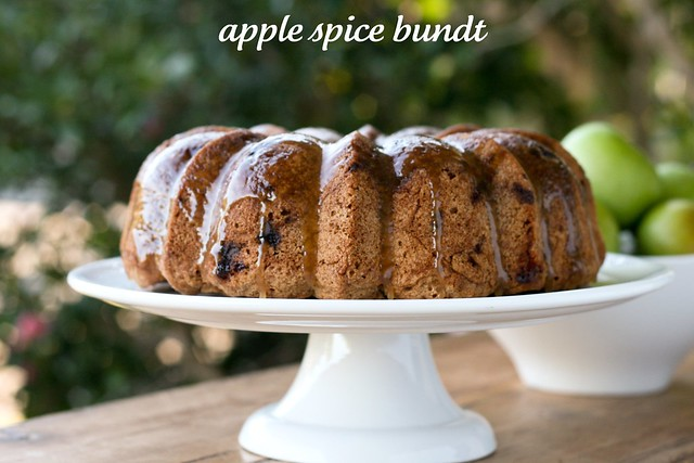 Apple Spice Bundt Cake- I Like Big Bundts 2011