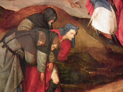 Jheronymus Bosch (El Bosco): TENTAÇÕES DE SANTO ANTÃO (Tentaciones de San Antonio) (DETAIL)