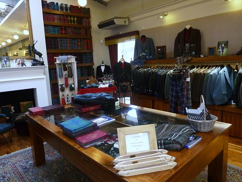 Tartans and Fabrics at Lochcarron Visitor Centre