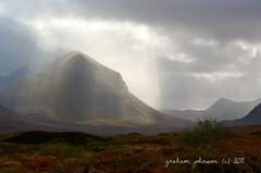 Then there was light  (Glen varragill nr portree) (EXPLORED) (gmj49 Thanks for over 1.8 million views) Tags: sunlight mist mountains skye scotland topf50 sony sleat gmj a350