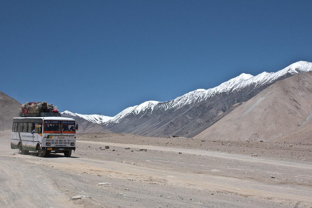 On the way to Pangong lake, Ladakh, India