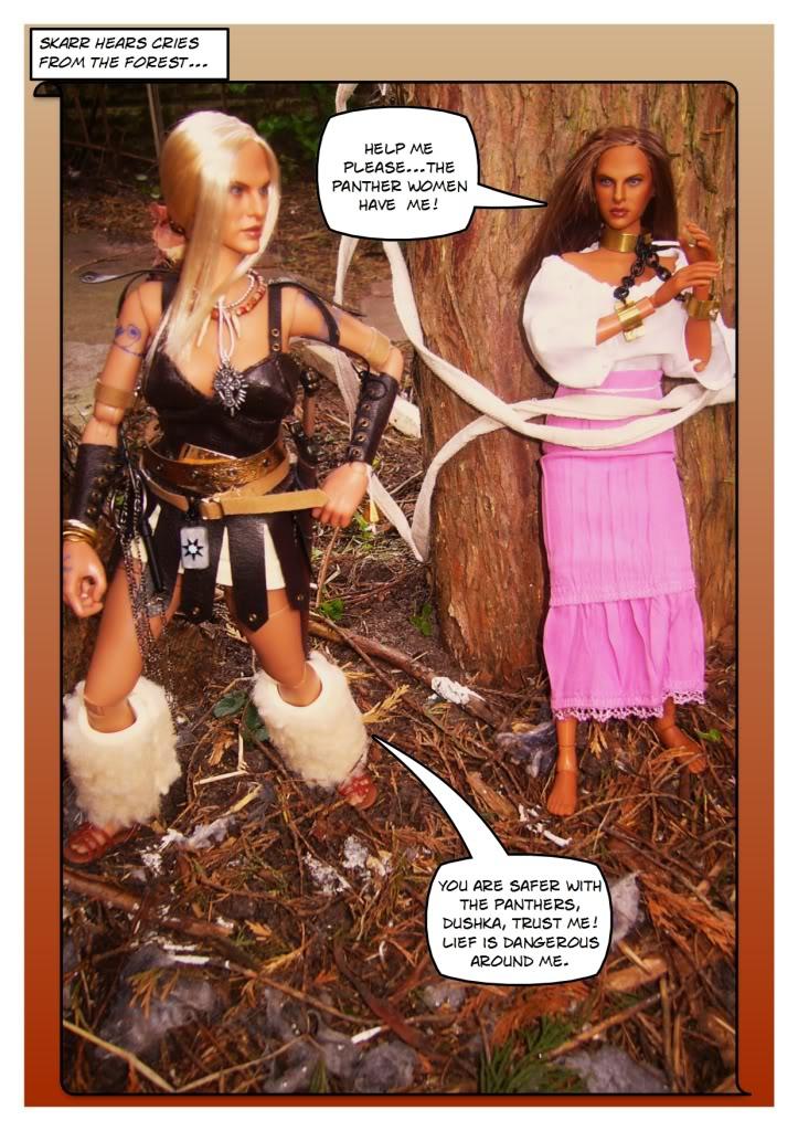 Skarr the Barbarian - origins