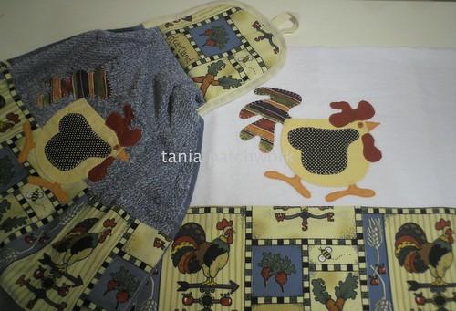 Kit Cozinha Galinha by tania patchwork