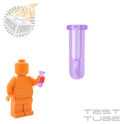 Test Tube - Trans Purple